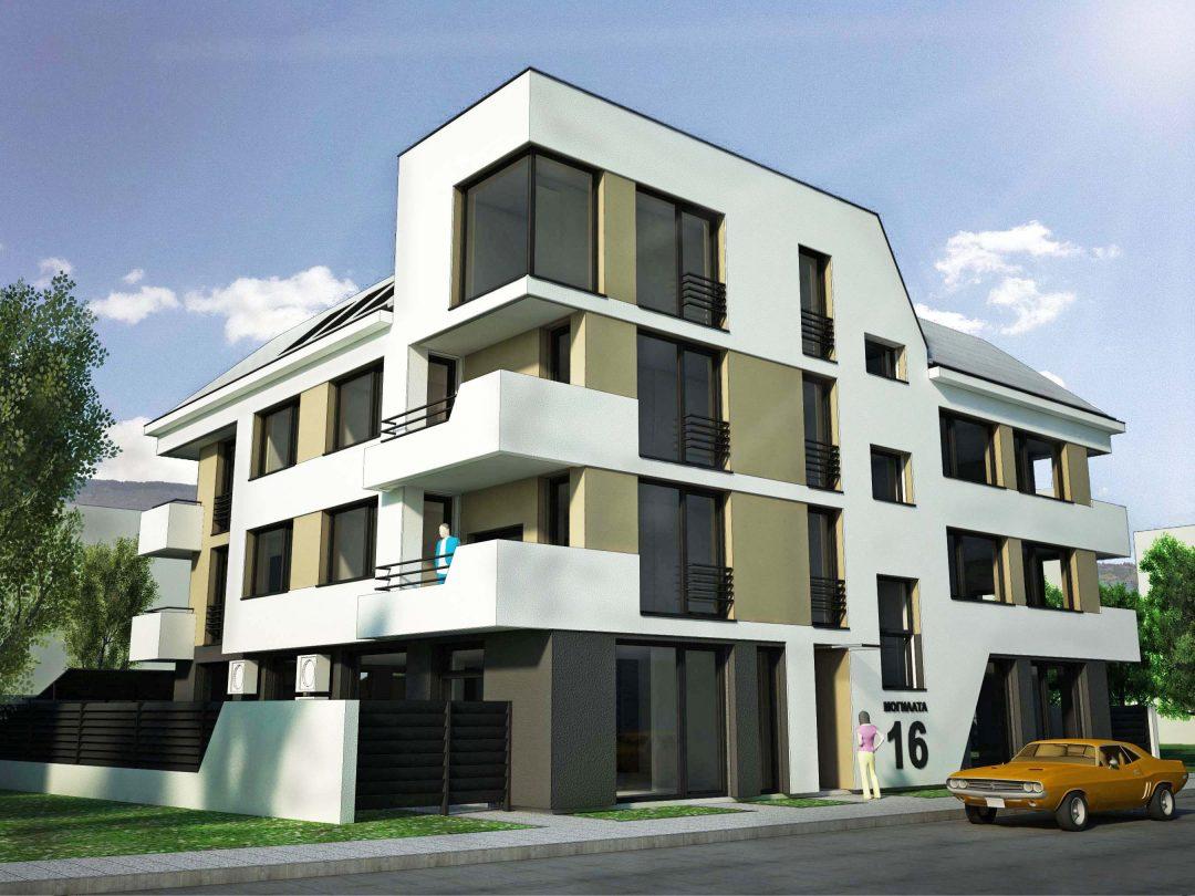 """Апартаментна сграда """"Могилата"""""""