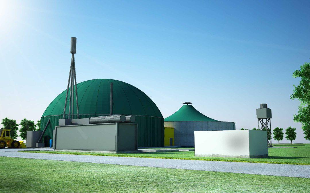 Станция за производство на електро енергия от бимоаса.