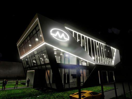"Многофункционална сграда с офиси и сервиз ""Маргел"""